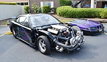 Danny Lowry's Drag Racing Car