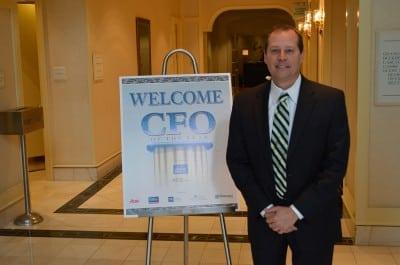 David Pittman at ABC 2014 CFO of the Year event