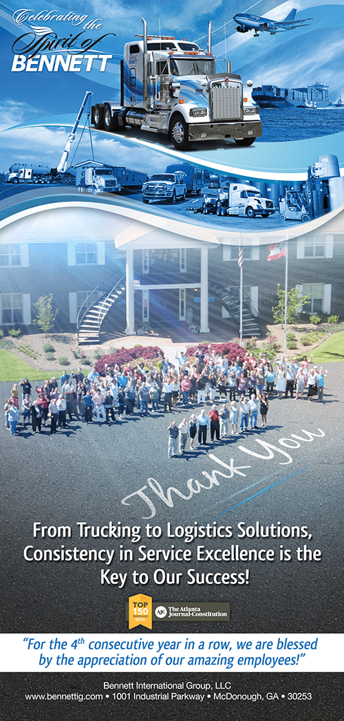 2015 AJC Top Workplaces Ad