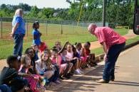 Bennett Attends Locust Grove Elementary Career Day