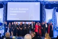 2015 JD Garrison Award.