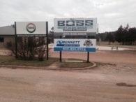 BOSS signs