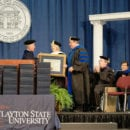 Marcia Taylor Awarded Honorary Doctorate by Clayton State University