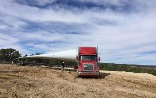 Ace Doran wind turbine blade transportation services