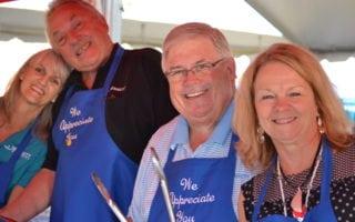 Bennett leaders celebrate truck drivers