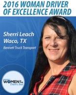 Bennett WomanDriverofExcellence Leach
