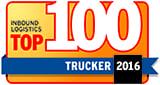 Bennett Makes List of Top 100 Truckers for Inbound Logistics
