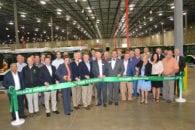 Bennett leaders celebrate warehouse opening