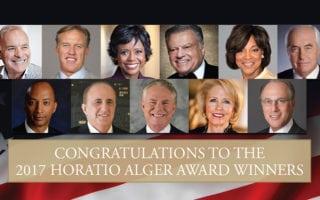 2017 Horatio Alger winners