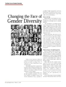 Excerpt from Redefining the Road Magazine Fall 2016 featuring interview with Marcia Taylor on Diversity in Tucking