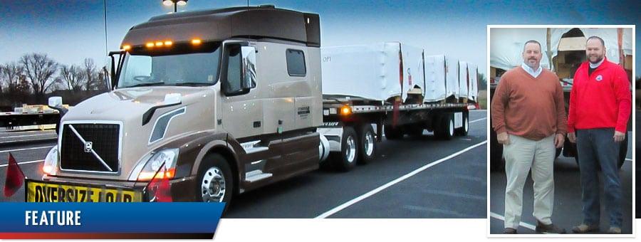 Ace Doran hauls for Pioneer