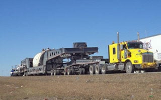 Bennett hauls generator