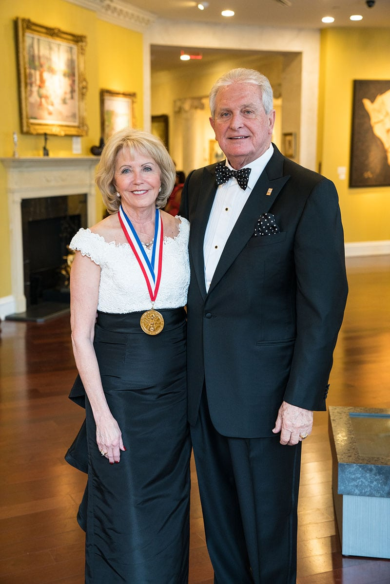 Marcia and Mike Taylor at Horatio Alger ceremonies
