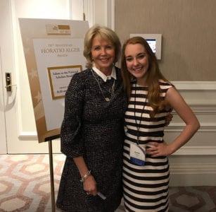 Marcia Taylor helps National Scholar