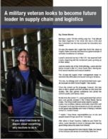 Article about CSU supply chain major
