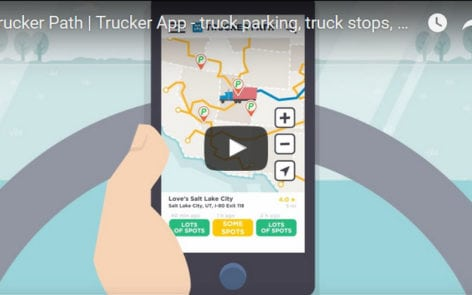 Trucker Path app