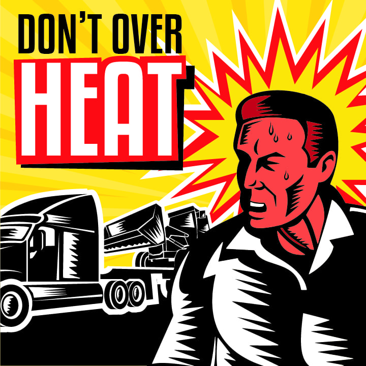 Airport Delivery Highlights the Importance of Heat Exhaustion Awareness for Truckers   Bennett Family of Companies