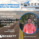 Make a Difference – Drive for Bennett