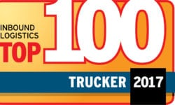 Inbound Logistics 2017 Top Trucker logo