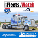 "Bennett Named 2018 ""Fleet to Watch"" by Best Fleets to Drive For®"