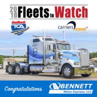 Fleets to Watch 2018 Bennett Motor Express