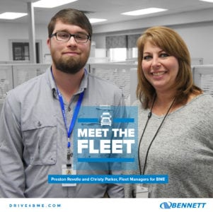 Meet Bennett's Fleet Managers