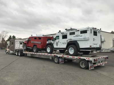Every Load Is Important To Bennett International Group But Lenco S Hauls Have Added Importance Of Being 500 000 Armored Vehicles Used By First Responders