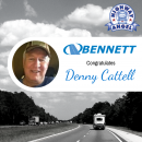 TCA Recognizes Bennett Driver Denny Cattell as Highway Angel