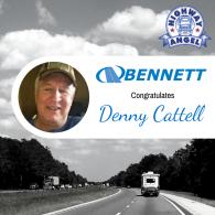 Denny Cattell Congratulations
