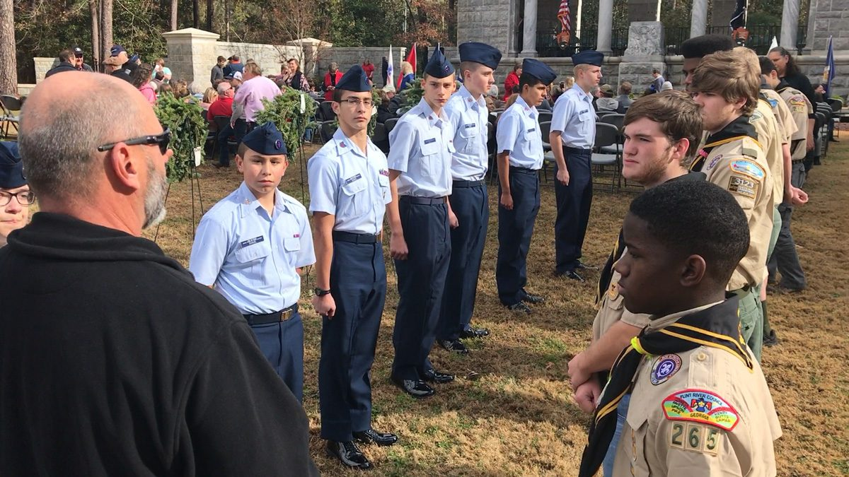 Phil Scouts ROTC